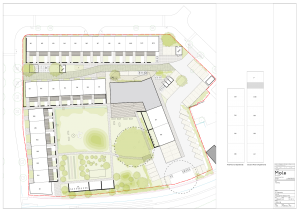 K1 site layout and plot numbers